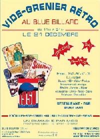 Blue Billard Poster