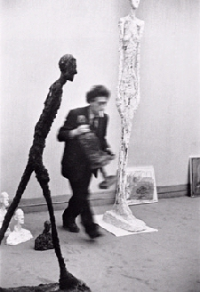 Photo by Cartier Bresson of Giacometti