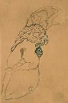 Klimt drawing, a little riisque